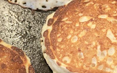 Recipe: Wheat-free oatmeal pancakes